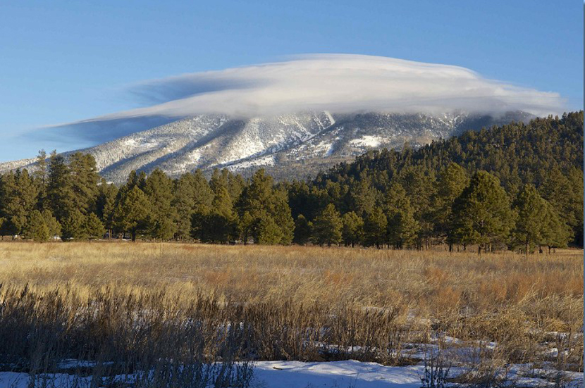 Lenticular Clouds over the Peaks